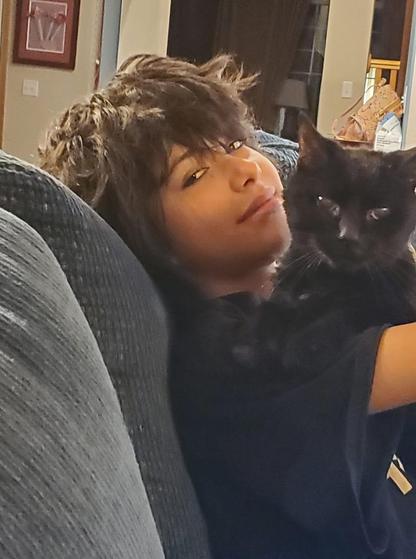 The Little Black Flying Cat