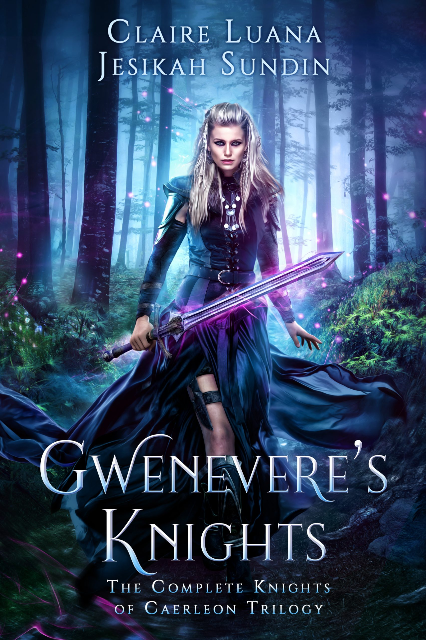 Indie Author Spotlight Review: Jesikah Sundin and Claire Luana's  The Knights of Caerleon Series