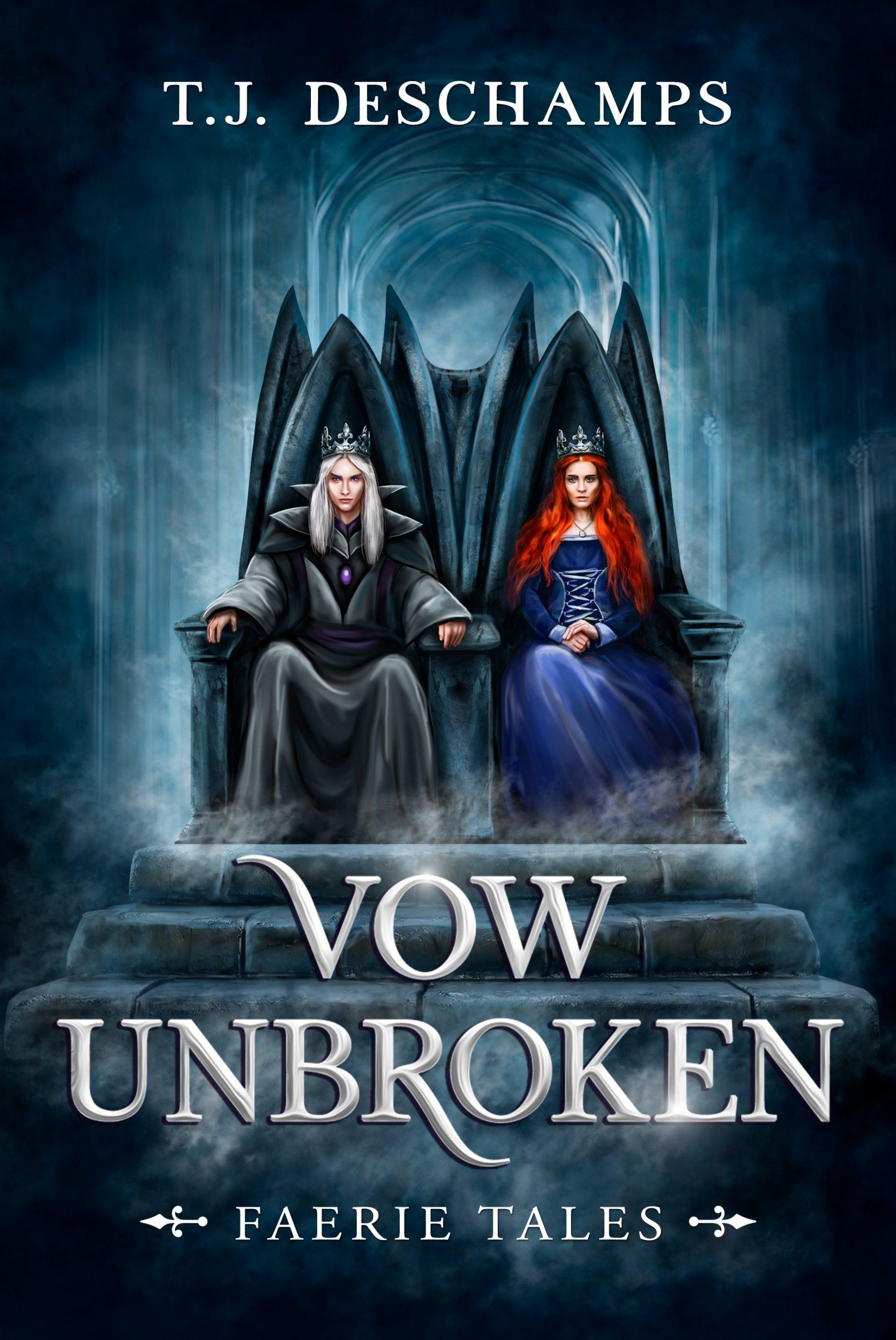 Excerpt from Vow Unbroken (Faerie Tales No. 3) by T.J. Deschamps