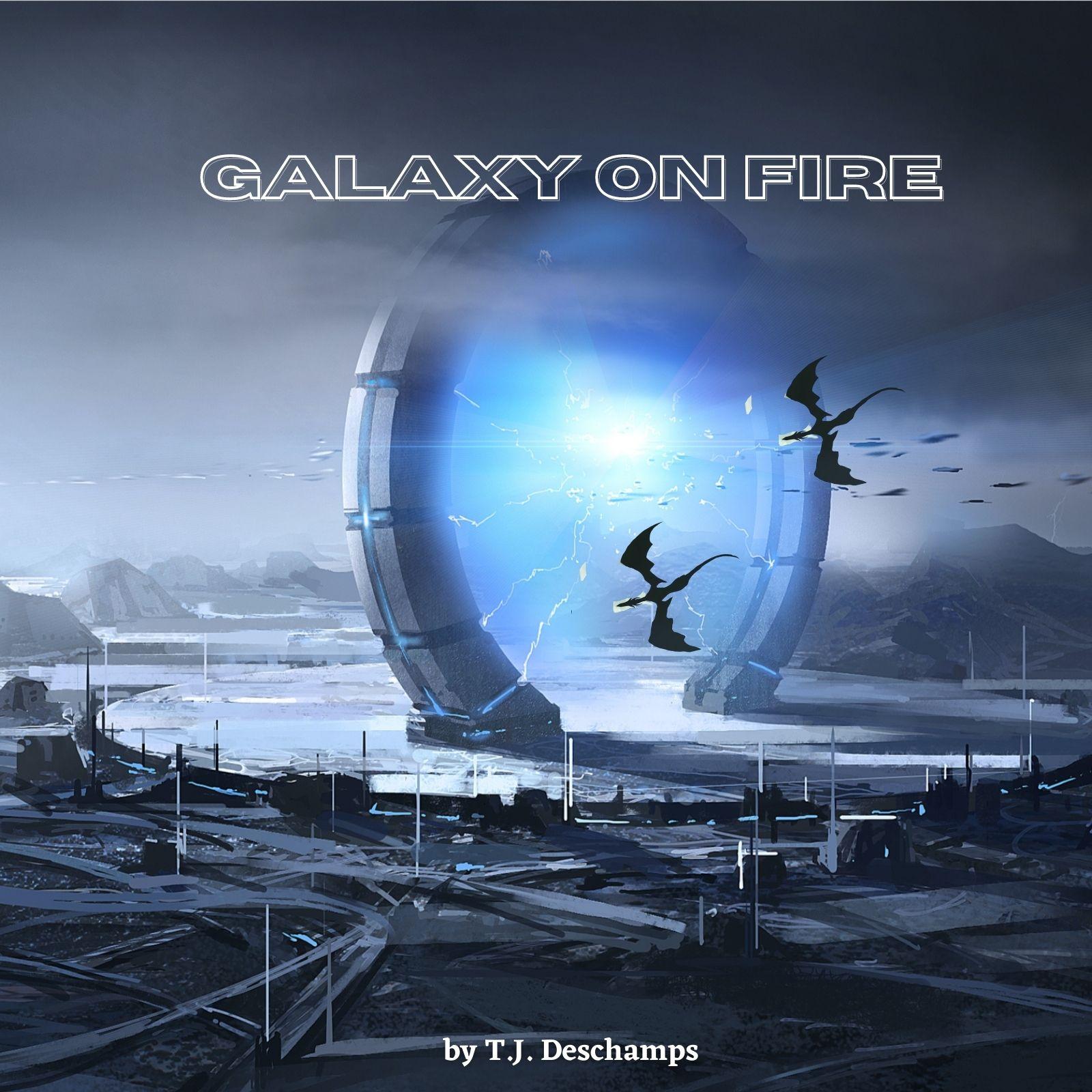 Kindle Vella series: Galaxy on Fire